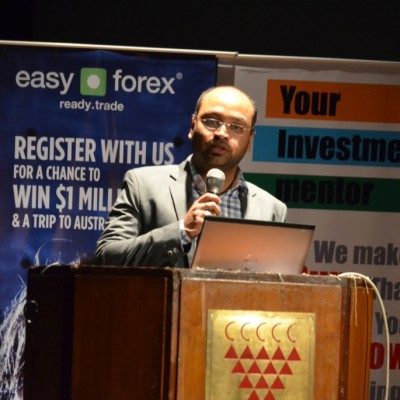 Pravin Khetan, Director - iPlan Education at Forex Seminar